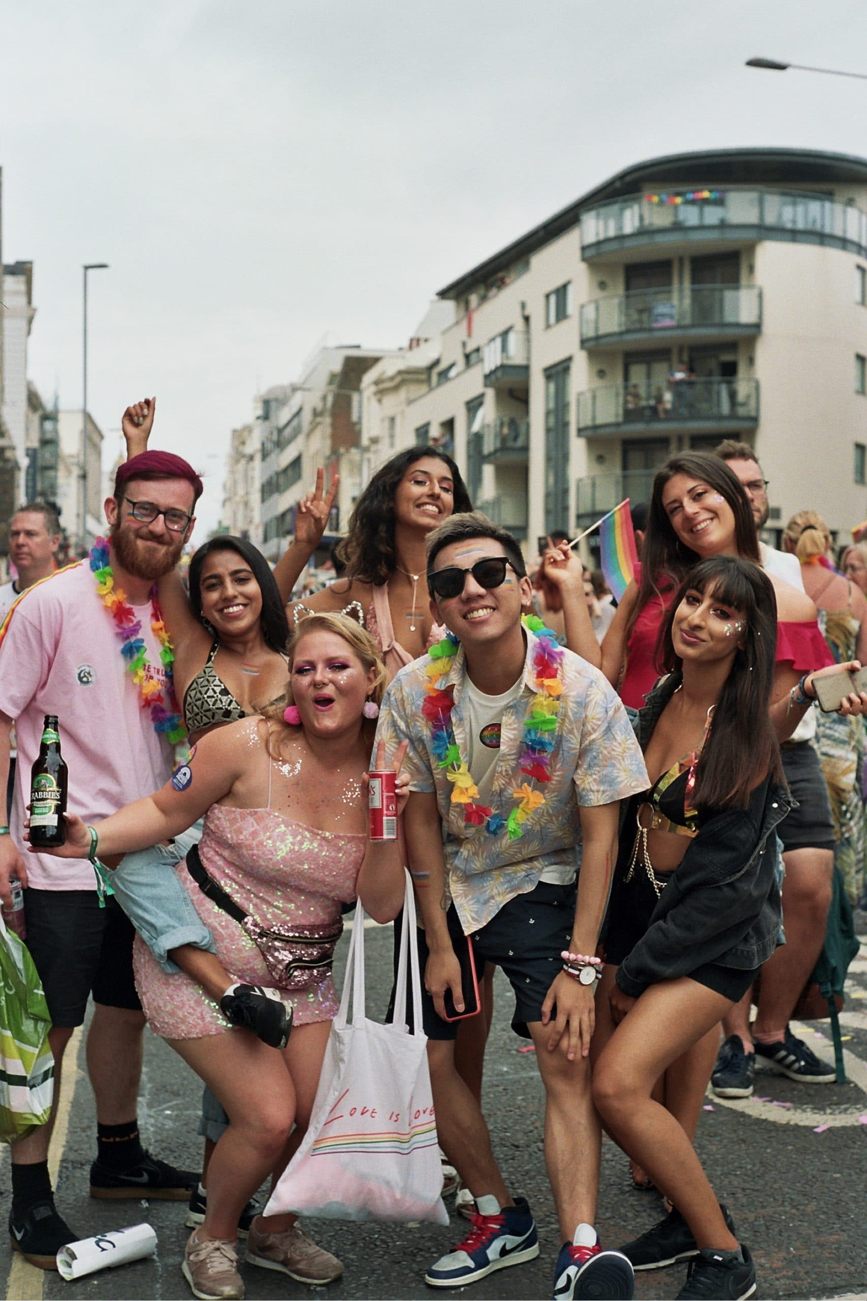 How is the international day against homophobia, transphobia and biphobia celebrated globally?