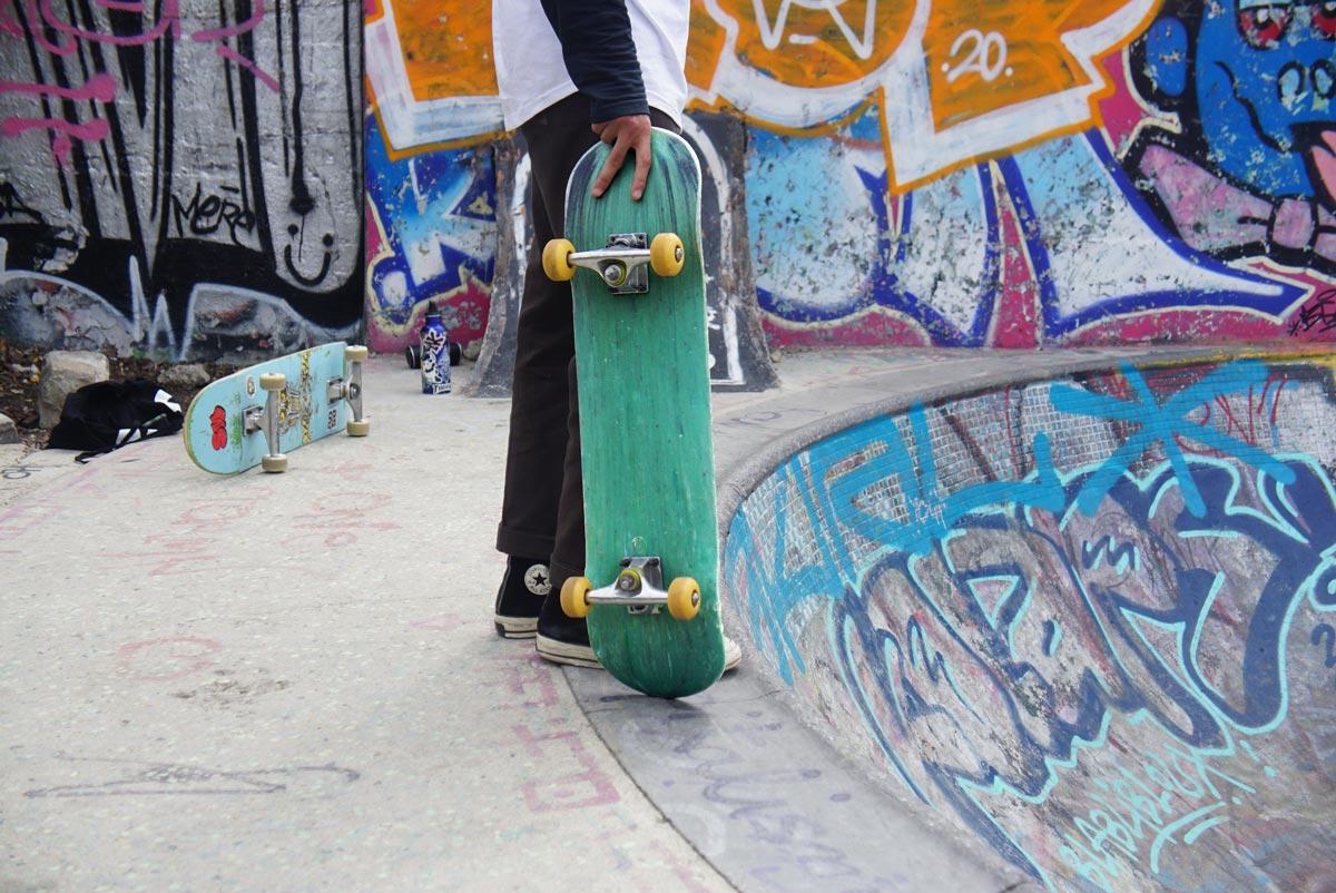 Jason Knight's skateboards aim to ramp up recycling