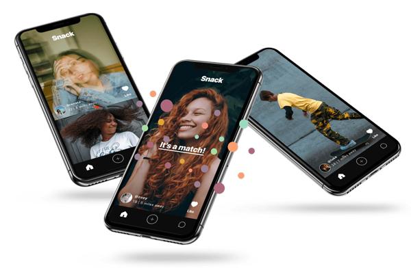 Snack is the 'Tinder meets TikTok' dating app now open to gen Z investors